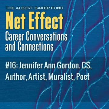 Net Effect #16: Jennifer Ann Gordon, Cs, Author, Artist, Muralist, Poet