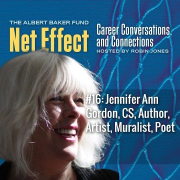 Net Effect #16: Jennifer Ann Gordon, Cs, Author, Artist, Muralist, Poet