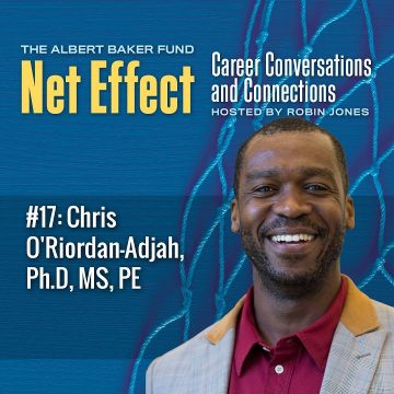 Net Effect #17: Chris O'riordan Adjah, Ph.d, Ms, Pe