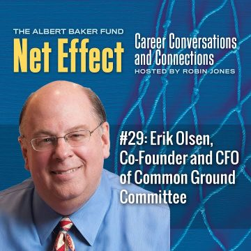 Net Effect #29: Erik Olsen, Co Founder And Cfo Of Common Ground Committee