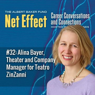 Net Effect #32: Alina Bayer, Theater And Company Manager For Teatro Zinzanni