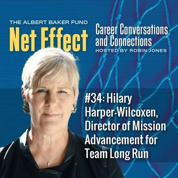 Net Effect #34: Hilary Harper Wilcoxen, Director Of Mission Advancement For Team Long Run