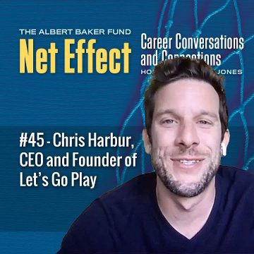 Net Effect #45 - Chris Harbur, Ceo And Founder Of Let's Go Play